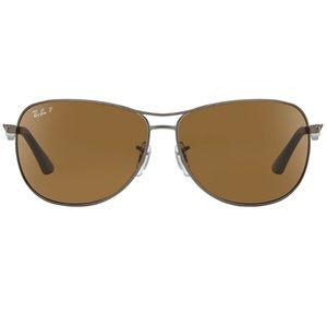 Ray-Ban Sunglasses Gunmetal w/Brown Polarized Lens